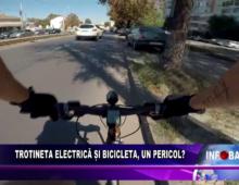 Trotineta electrică și bicicleta, un pericol?