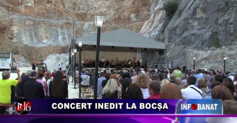 Concert inedit la Bocșa