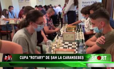 "Cupa ""Rotary"" de șah la Caransebeș"