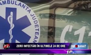 Zero infectări în ultimele 24 de ore