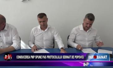 Conducerea PMP spune PAS protocolului semnat de Popovici