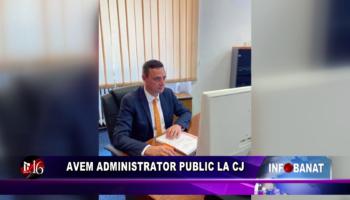Avem administrator public la CJ