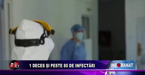 1 deces și peste 80 de infectări