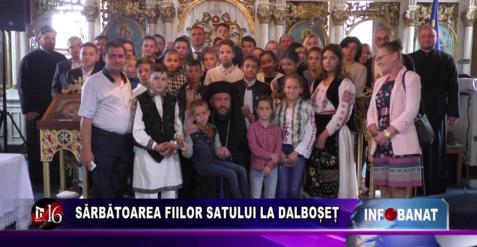 Sărbătoare fiilor satului la Dalboșeț
