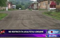 Noi restricții în localitățile cărășene