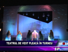 Teatrul de Vest pleacă în turneu