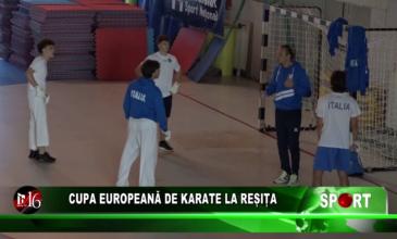 Cupă Europeană de Karate la Reșița