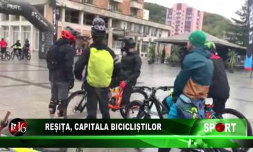 Reșița, capitala bicicliștilor