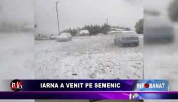 Iarna a venit pe Semenic