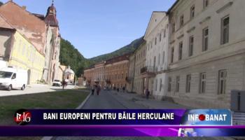 Bani europeni pentru Băile Herculane