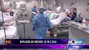 Explozie de decese: 30 în 3 zile