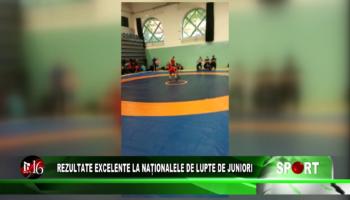 Rezultate excelente la Naționalele de Lupte de Juniori